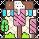 Ice Cream Lolly Ice Cream Stick Popsicle Icon