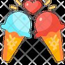 Ice Cream Love Icon