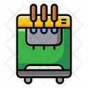Ice Cream Dispenser Ice Cream Maker Vending Machine Icon