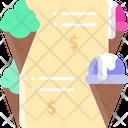 Ice Cream Menu Icon