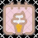 Ice Cream Month Icon