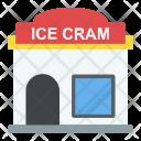 Ice Cream Parlor Restaurant Icon