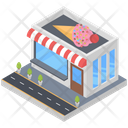 Cafe Ice Cream Parlour Ice Cream Point Icon