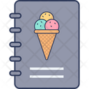 Ice Cream Recipe Icon