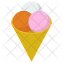 Ice Cream Scoops Ice Cream Sweet Icon
