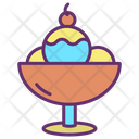 Ice Cream Scoops Icon