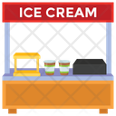 Ice Cream Stall Icon