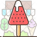 Ice Cream Stick Popsicle Ice Cream Lolly Icon
