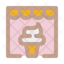 Store Business Ice Cream Parlor Icon