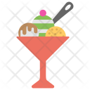 Ice-Cream Sundae Icon