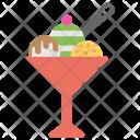 Ice Cream Sundae Icon