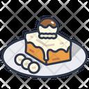 Toast Bread Dessert Icon
