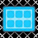 Ice cube tray Icon