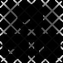 Ice Cubes Frozen Cubes Cold Cubes Icon