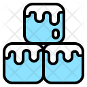 Cubes Cold Pain Icon