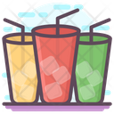 Ice Drink Beverage Coffee Cup Icon