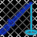 Ice Fishing Icon