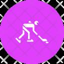 Ice Hockey Rink Icon