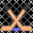 Sports Ice Hockey Skater Hockey Icon