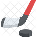 Ice Hockey Game Play Icon