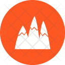 Ice mountain Icon