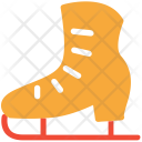 Ice Skate Boot Icon