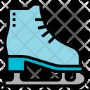 Equipment Ice Ice Skate Icon