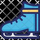 Figure Ice Skate Icon