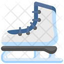 Ice Skate Footwear Ice Skating Icon