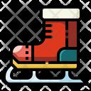 Ice Skate Sport Ice Skating Icon
