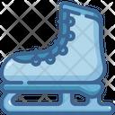 Ice Skate Footwear Ice Skating Icon