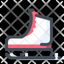 Ice Rink Skates Icon
