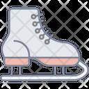 Ice Skate Shoe Icon