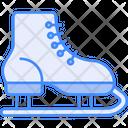 Ice Skate Shoe Shoes Ice Skating Icon