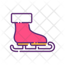 Ice Skate Shoes Icon