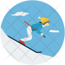Ice Skater Skating Icon