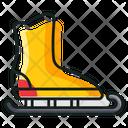 Ice Blading Ice Skates Inline Skates Icon