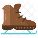 Ice Skates Shoes Icon