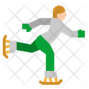 Skate Ice Hill Icon