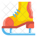 Ice Skating Skates Roller Skates Icon