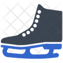 Ice Shoe Skating Icon