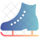 Ice Shoes Winter Icon