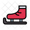 Skating Ice Snow Icon
