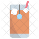 Ice Tea Drink Glass Icon