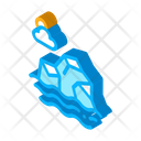 Nature Sea Iceberg Icon
