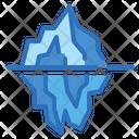 Iceberg Glacier Cold Icon