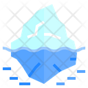 Iceberg Ice Nature Icon
