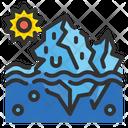 Iceberg Melting Icon