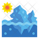 Iceberg Melting Iceberg Melting Icon