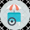 Icecream Tricycle Van Icon